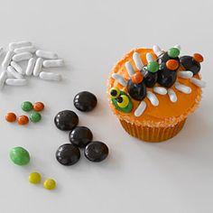Decorate Halloween cupcakes | Crazy centipede cupcakes | AllYou.com