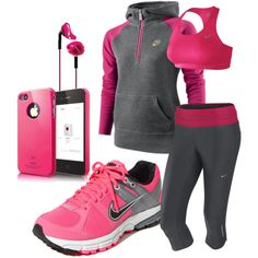 """""""Yeah I Work Out"""", created by hagreen17.polyvore.com"""