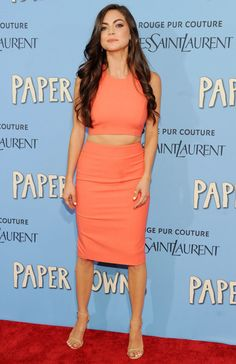 Caitlin Carver – Paper Towns Premiere in New York City