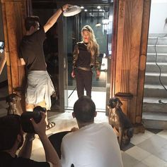 SHOOTING DAY #new #collection #fallwinter16 #shopart #shopartmania #adorage #style #jessicagoicoechea #shooting #superstyle #shopartstyle
