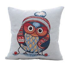 Best price on High Quality 45x45cm Vintage Decorative Owl Pillow Case Cushion Cover //    Price: $ 12.90  & Free Shipping Worldwide //    See details here: https://mrowlie.com/product/high-quality-45x45cm-vintage-decorative-owl-pillow-case-cushion-cover/ //    #owl #owlnecklaces #owljewelry #owlwallstickers #owlstickers #owltoys #toys #owlcostumes #owlphone #phonecase #womanclothing #mensclothing #earrings #owlwatches #watches #owlporcelain