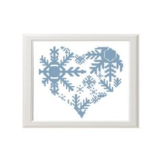 winter cross stitch modern cross stitch от AnimalsCrossStitch