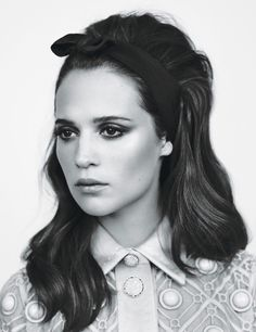 Alicia Vikander: The North Star - Alicia Vikander, Marc Jacobs 60s mid lenght