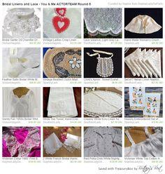 http://www.etsy.com/treasury/MjQ1OTQzMTJ8MjcyNTE2NTM2OQ/bridal-linens-and-lace-you-me-actorteam… #SOPHIELADYDEPARIS
