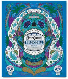 Jose Cuervo Tradicional by Ludwig Gayanilo, via Behance
