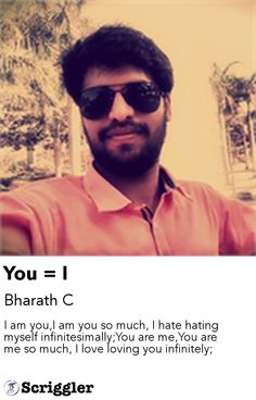 You = I by Bharath C https://scriggler.com/detailPost/poetry/29017