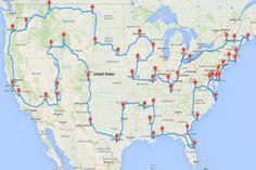 How To Drive Across The U Ting Major Landmarks Including Graceland Usa Roadtriproad Trip S A Best