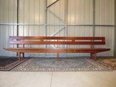 MID Century Vintage 12 Foot Long Solid Timber Church PEW Bench Seat in Bracken Ridge, QLD | eBay