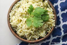 Garlic Cilantro Brown Rice