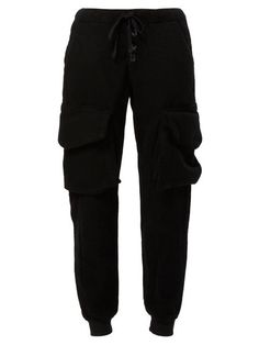 Shop Greg Lauren drawstring trousers  in L'Eclaireur from the world's best independent boutiques at farfetch.com. Shop 300 boutiques at one address.