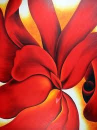 Image detail for -georgia o keeffe red cannas iii painting Georgia O'keeffe, Wisconsin, Georgia O Keeffe Paintings, New York Art, Arte Floral, Famous Artists, American Artists, Oeuvre D'art, Flower Art