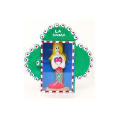 Mi Vida Gift Shop handmade jewelry, art, decor & clothing. found on Polyvore #la #dama #folk #nopal #decor #mexican #latino