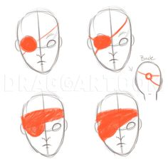 Anime Mouth Drawing, How To Draw Anime Eyes, Pirate Art, Space Pirate, How To Draw Wood, Tokyo Ghoul Drawing, Pirate Eye Patches, Drawing Reference Poses, Drawing Guide
