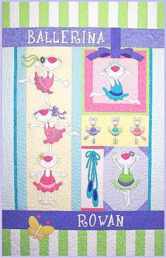amy bradley designs | Ballerina Kitties Block of the Month Set by Amy Bradley Designs