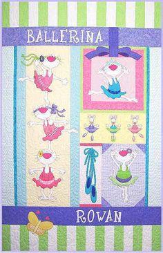 amy bradley designs | Ballerina Kitties Block of the Month Set by Amy Bradley Designs