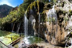 20 places to visit in Colorado!  (Hanging Lake, pictured here, I have wanted to see for some time now!)