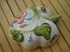 Vintage 1960s Herend Rothschild Bird Nut Dish 2013m by bycinbyhand
