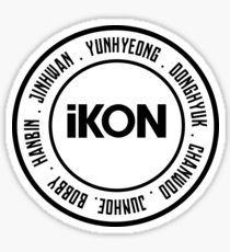 Ikon Kpop stickers featuring millions of original designs created by independent artists. Kim Jinhwan, Hanbin, Logo Sticker, Sticker Design, Kpop Logos, Ikon Kpop, Journal Stickers, Laptop Stickers, Ikon Wallpaper