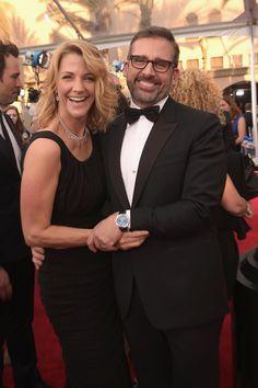 Steve and Nancy Carell at the SAG Awards 2015   POPSUGAR Celebrity