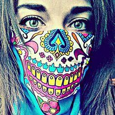 Sugar Mama #Facemask Hoo-rag  Available at www.hoorag.com
