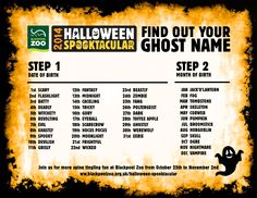 were starting to feel very halloweeny with just 12 days until our halloween - Halloween Name Ideas