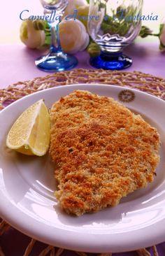 La cotoletta di pollo impanata alla piastra è una versione leggera della tipica cotoletta di pollo impanata fritta,tanto gusto e metà delle calorie!