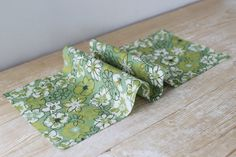 Light Green Kitsch Print Shirting