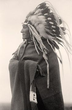 photo of Lazy Boy. Indian Chief.  It was made in 1914 by Harris & Ewing.