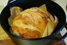 This bread is SO easy and delicious!!  Add some rosemary & thyme, or Jalapenos, or beer - the different flavors are endless!
