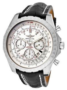Round Stainless Steel Watch