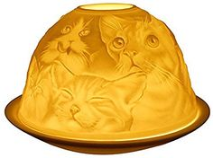 Welink LightGlow Tealight Candle Holder Cats  LD12008 * Check this awesome product by going to the link at the image.