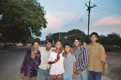 Group of boys in front of our Aravind guest house in Madurai