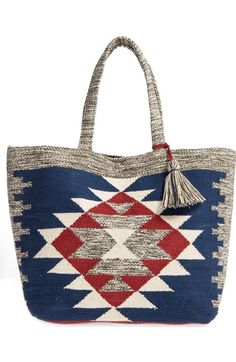 Sole Society Rees Woven Geometric Tote available at #Nordstrom