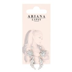 Ariana Grande for Lipsy Pack of 6 Pretty Stud Earrings