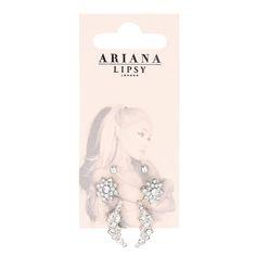 Ariana Grande for Lipsy Pack of 6 Pretty Stud Earrings Ariana Grande Lipsy, Ariana Grande Fotos, Kawaii Accessories, Girls Accessories, Jewelry Accessories, Ariana Merch, Perfume, Diamond Studs, Jewelery
