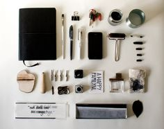 Things I carry with me, by Marilou