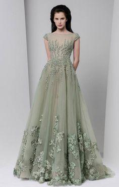 Wedding dress idea: Stylish Tony Ward gown