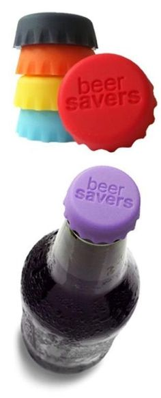 Beer Saver Bottle Caps <3 BPA Free {will work on bottle sodas & wine coolers too} by sheree