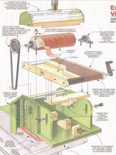 Woodworking Equipment, Woodworking Clamps, Woodworking Machinery, Woodworking Workshop, Diy Bandsaw, Diy Router, Woodworking Tools For Beginners, Woodworking Projects Diy, Homemade Tools