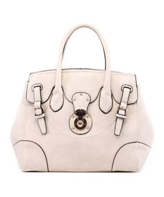 Look what I found on #zulily! Beige Lindsey Convertible Satchel by MKF Collection #zulilyfinds