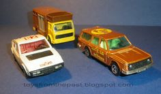 Toys from the Past: #236 MAJORETTE – VW GOLF, MERCEDES 350 SL, POLICE, MATRA BAGHEERA and OTHER (1979)