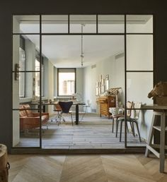 INTERIOR DESIGN The Danish furniture company Fritz Hansen is welcoming guest to their home these days on the furniture fair Sal. Fritz Hansen, Milan Apartment, Apartment Design, Home Interior, Interior Architecture, Interior Design, Scandinavian Interior, Danish Furniture, Contemporary Furniture