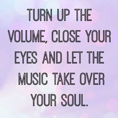Turn Up The Volume ....