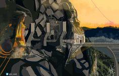Paisajismo conceptual  Templo elevado  -Daniel canon