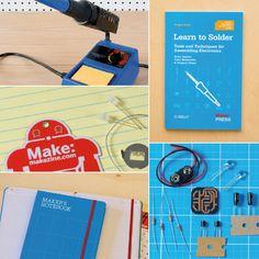 MAKE: Learn to Solder Set - Special Value via @MakerShed #MAKE #MAKER #DIY #STEM