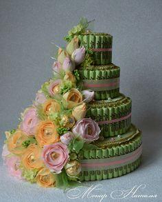 Gallery.ru / Фото #121 - Тортики из конфет - monier