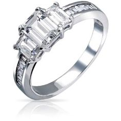 asscher-cut-3-stone-ring_v-vr71285_1 Best Deal Bling Jewelry Dainty Asscher Ring