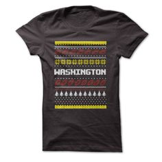 Washington - Ugly Christmas Sweater