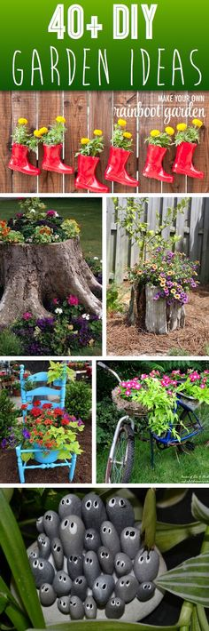 Give Your Backyard A Complete Makeover With These 40+ DIY Garden Ideas