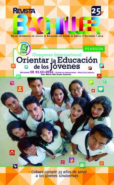 Revista Bachiller No. 25 #COBAES #Sinaloa #Revista #Educación